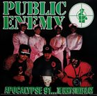 PUBLIC ENEMY Apocalypse 91... The Enemy Strikes Black album cover