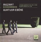 QUATUOR EBÈNE Mozart ‎– Dissonances album cover