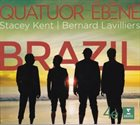 QUATUOR EBÈNE Quatuor Ebène, Stacey Kent, Bernard Lavilliers : Brazil album cover