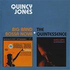 QUINCY JONES Big Band Bossa Nova + The Quintessence album cover