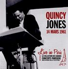 QUINCY JONES Live in Paris 14 Mars 1961 album cover