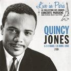 QUINCY JONES Live In Paris 5-7-9 Mars/19 Avril 1960 album cover
