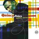 QUINCY JONES Talkin' Verve album cover