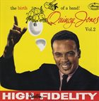 QUINCY JONES The Birth of a Band Volume 2 album cover