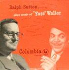 RALPH SUTTON Plays Music of Fats Waller album cover