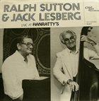 RALPH SUTTON Ralph Sutton & Jack Lesberg : Duet / Live At Hanratty's album cover