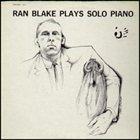 RAN BLAKE Plays Solo Piano album cover