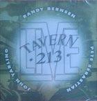 RANDY BERNSEN Live @ Tavern 213 Vol. 1 album cover