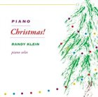 RANDY KLEIN Piano Christmas album cover