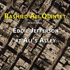 RASHIED ALI Eddie Jefferson at Ali's Alley album cover