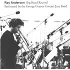 RAY ANDERSON Big Band Record album cover