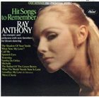 RAY ANTHONY Hit Songs to Remember album cover