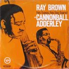 RAY BROWN His Bass,His Big Band (Guest Artist Cannonball Adderley) album cover
