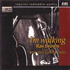 RAY BROWN I'm Walking album cover