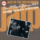 RAY BROWN Ray Brown, Ben Webster, Oscar Peterson : One O'Clock Jump 1953 album cover