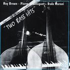 RAY BROWN Ray Brown - Pierre Boussaguet - Dado Moroni : Two Bass Hits album cover