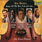 RAY BROWN Some of My Best Friends Are...... the Piano Players album cover