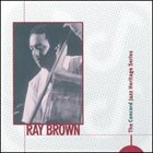 RAY BROWN The Concord Jazz Heritage Series album cover