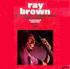 RAY BROWN With The All-Star Big Band album cover