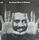 RAY BRYANT Alone at Montreux album cover