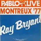 RAY BRYANT Montreux '77 album cover