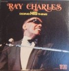 RAY CHARLES Doing His Thing album cover