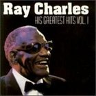 RAY CHARLES His Greatest Hits, Volume 1 album cover