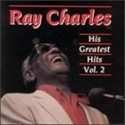 RAY CHARLES His Greatest Hits, Volume 2 album cover