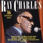 RAY CHARLES Ray Charles 16 Greatest Hits album cover