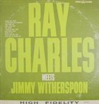 RAY CHARLES Ray Charles Meets Jimmy Witherspoon album cover