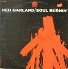 RED GARLAND Soul Burnin' album cover