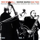 RED MITCHELL Big Two Vol. 1(with Warne Marsh) album cover
