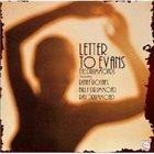 RENEE ROSNES Letter to Evans album cover