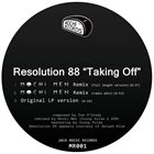 RESOLUTION 88 Taking Off album cover
