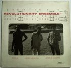 REVOLUTIONARY ENSEMBLE Revolutionary Ensemble album cover