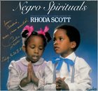RHODA SCOTT Negro Spirituals - Chantés Et Interprétés A L'Orgue Hammond Par Rhoda Scott album cover