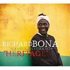 RICHARD BONA Richard Bona & Mandekan Cubano : Heritage album cover