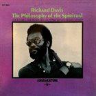 RICHARD DAVIS The Philosophy Of The Spiritual (aka With Understanding) album cover