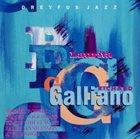 RICHARD GALLIANO Laurita album cover
