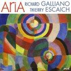 RICHARD GALLIANO Richard Galliano & Thierry Escaich : Aria album cover