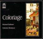 RICHARD GALLIANO Richard Galliano , Gabriele Mirabassi : Coloriage album cover
