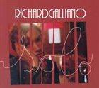 RICHARD GALLIANO Solo (2006) album cover