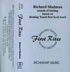 RICHARD SHULMAN First Rites album cover