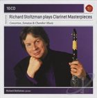 RICHARD STOLTZMAN Plays Clarinet Masterpieces album cover