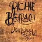 RICHIE BEIRACH Solo Piano Recital - Live In Japan album cover