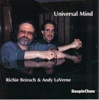 RICHIE BEIRACH Universal Mind (with Andy LaVerne) album cover