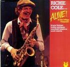 RICHIE COLE Alive at The Village Vanguard album cover