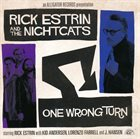 RICK ESTRIN AND THE NIGHTCATS One Wrong Turn album cover