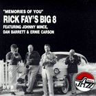 RICK FAY Memories of You album cover