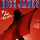 RICK JAMES Fire And Desire album cover